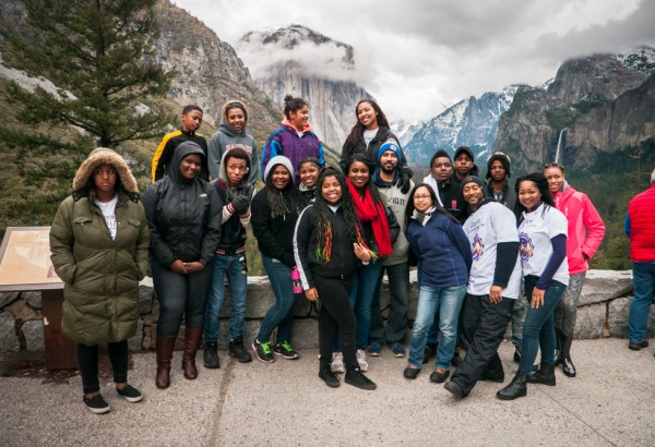 EPA group in front of Yosemite Valley