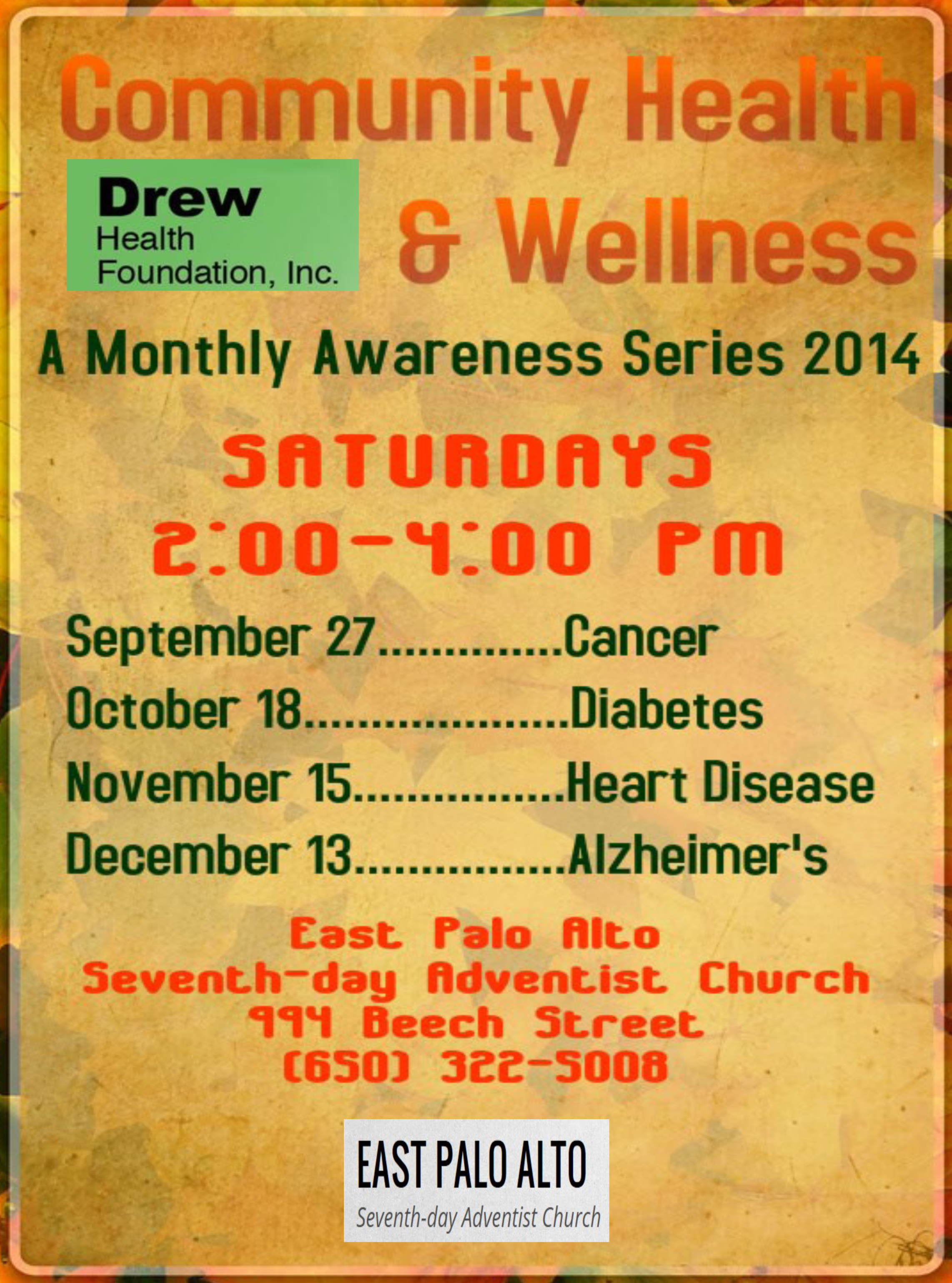 Mental Health Awareness Day - Parent Network of WNY |Wellness Day Event Flyers